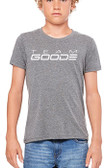 "Team GOODE  Grey Tee ""20+ Years"" (Youth Sizes)"