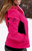 Double Diamond Softshell Pink with GOODE Logos