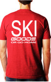 Fitted T-Shirt Red/White TEAM GOODE