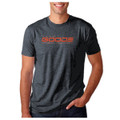 Fitted T-Shirt Metal/Orange World Record