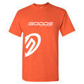 GOODE National Youth T-Shirt Orange/White  (YXL Only)