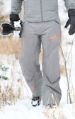 Flylow Ski Pant - Pewter with GOODE Logo