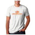 "GOODE - Men's Fit ""T"" White/Teal/Orange"