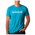 "GOODE - Men's Fit ""T"" Teal/White Team GOODE"