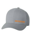 GOODE Unisex Flexfit Mid-Profile Hat Gray/Orange