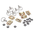 Cycle Quick Fasin' D-Ring Fiberglass Bodywork Hardware Kit With Clips