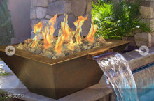 Fire and Water Bowls – Match Lit