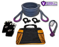 "Yukon recovery gear kit with 7/8"" kinetic rope"
