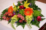 Pretty mixture of seasonal and local fresh flowers. We sell sierra Eco and local Ontario blooms. When it is fresh and available locally we have the stock.