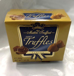 Maitre Truffout truffles from Austria. 200 grams of lovely melt in your mouth chcocolate. Dusted with powdered cocoa. Great gift for that special someone.