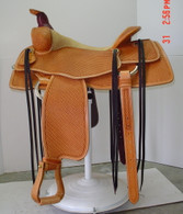Les Vogt Saddle by Jim Taylor #923B
