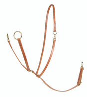 Al Dunning Big Ring Martingale with Sliding Neck Strap