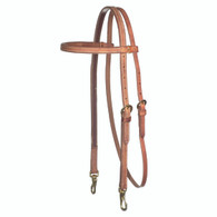 Browband Headstall Snap Cheek
