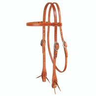 Laced Browband Headstall