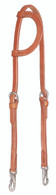 Snap Cheek Headstall - Nickel