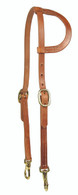 Snap Cheek Headstall - Bronze