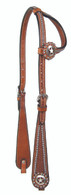 Spotted Star Concho Headstall