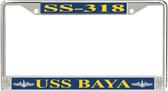 USS Baya SS-318 License Plate Frame