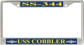 USS Cobbler SS-344 License Plate Frame