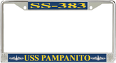 USS Pampanito SS-383 License Plate Frame