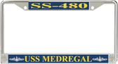 USS Medregal SS-480 License Plate Frame