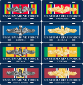 Service Ribbon Submarine Auto Tags