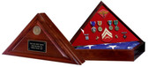 Heritage Flag Walnut Mounting Case