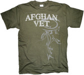 Afghanistan Veteran Horizontal Tribal T Shirt