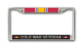 Cold War Veteran License Plate Frame