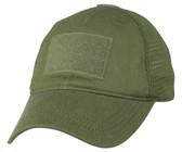 Mesh Back OD Green Operator Cap