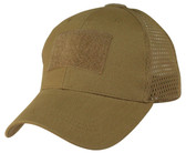 Mesh Back Coyote Brown Operator Cap