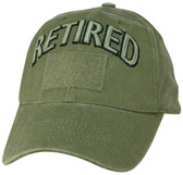 Retired OD Green Cap with Hook and Loop Front