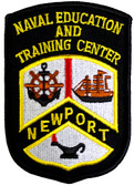 Naval Education and Training Center 3.75 Inch Patch