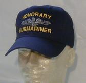 Honorary Submariner Ball Cap