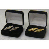 SUBMARINE DOLPHIN CUFF LINKS, BOXED