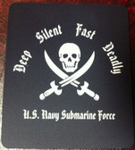 Deep, Silent, Fast, Deadly Mousepad