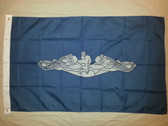 Single-Ply 3' x 5' Dolphin Flag