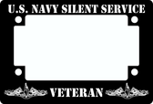 Motorcycle Submarine Veteran Black Tag Frame