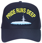 Pride Runs Deep' ( with Submarine ) Ball Cap