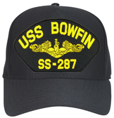 USS Bowfin SS-287 (Gold Dolphin) Submarine Officers Cap