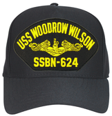 USS Woodrow Wilson SSBN-624 (Gold Dolphins) Submarine Officer Cap