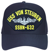 USS Von Steuben SSBN-632 (Silver Dolphins) Submarine Enlisted Cap