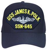 USS James K. Polk SSN-645 ( Silver Dolphins ) Submarine Enlisted Cap