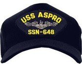 USS Aspro SSN-648 (Silver Dolphins) Submarine Enlisted Cap