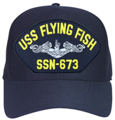 USS Flying Fish SSN-673 ( Silver Dolphins ) Submarine Enlisted Cap