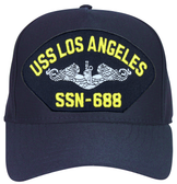 USS Los Angeles SSN-688 ( Silver Dolphins ) Submarine Enlisted Cap