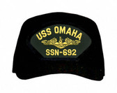 USS Omaha SSN-692 ( Gold Dolphins ) Submarine Officer Cap