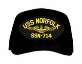 USS Norfolk SS-714 ( Gold Dolphins ) Submarine Officer Cap