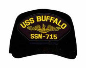 USS Buffalo SSN-715 ( Gold Dolphins ) Submarine Officers Cap