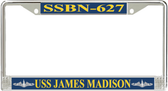 USS James Madison SSBN-627 License Plate Frame